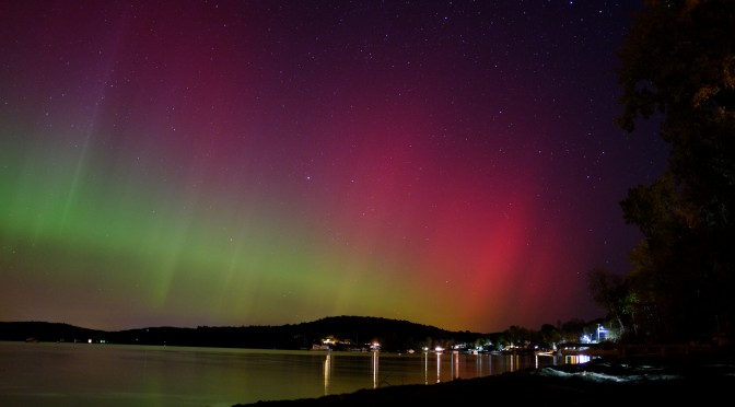 Northern Lights in Malletts Bay