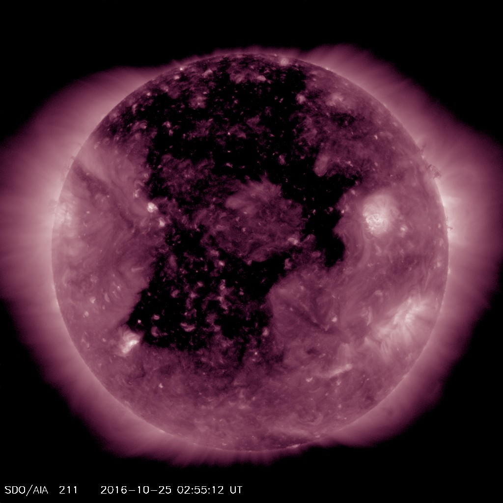 Very large coronal hole will bring days of active aurora conditions