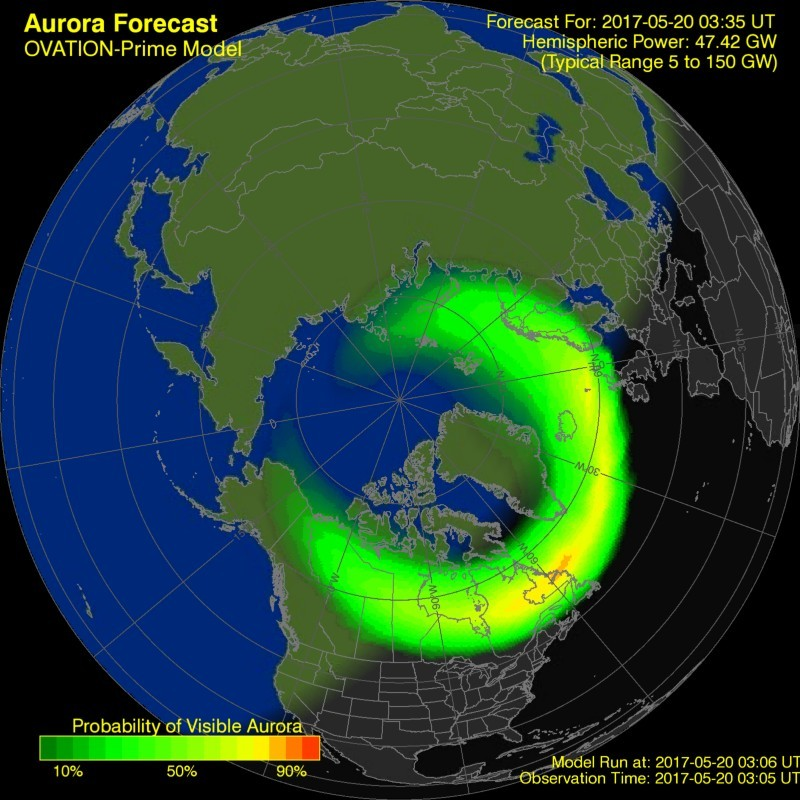Ovation model at the time of this update shows some activity.